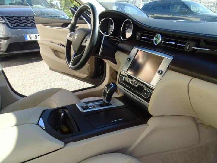 Maserati Quattroporte S Q4 410ps BVA / Jtes 20  PDC + Camera Echap sport  Bixenon  gris maratea met - 10