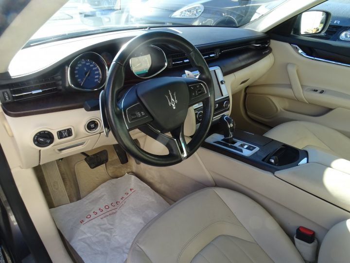 Maserati Quattroporte S Q4 410ps BVA / Jtes 20  PDC + Camera Echap sport  Bixenon  gris maratea met - 11