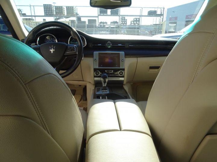 Maserati Quattroporte S Q4 410ps BVA / Jtes 20  PDC + Camera Echap sport  Bixenon  gris maratea met - 12