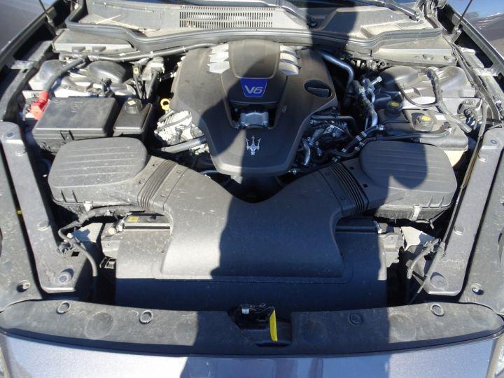 Maserati Quattroporte S Q4 410ps BVA / Jtes 20  PDC + Camera Echap sport  Bixenon  gris maratea met - 21