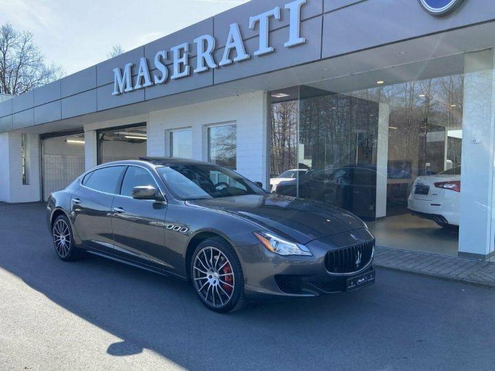 Maserati Quattroporte VI (2) 3.0 V6 S Q4 410 (Toit ouvrant) Gris Grigio Maratea métal - 1