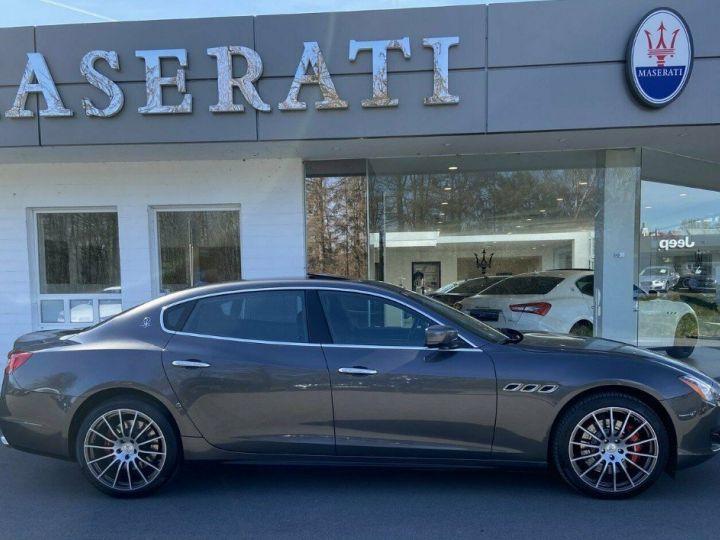 Maserati Quattroporte VI (2) 3.0 V6 S Q4 410 (Toit ouvrant) Gris Grigio Maratea métal - 5