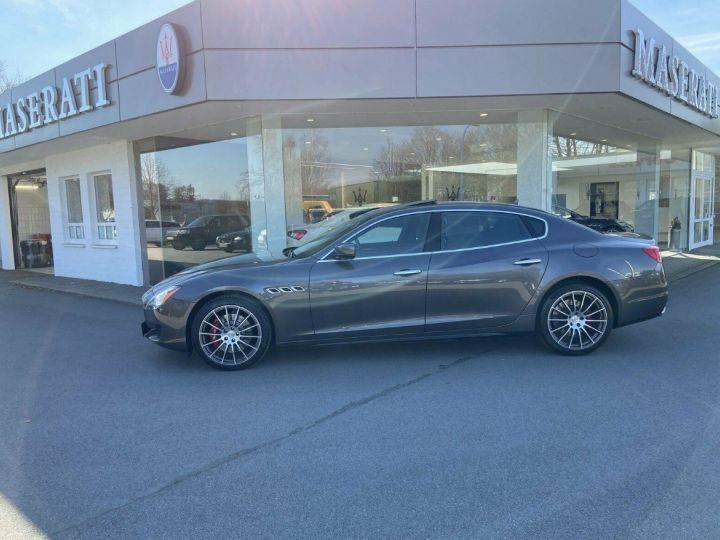 Maserati Quattroporte VI (2) 3.0 V6 S Q4 410 (Toit ouvrant) Gris Grigio Maratea métal - 6