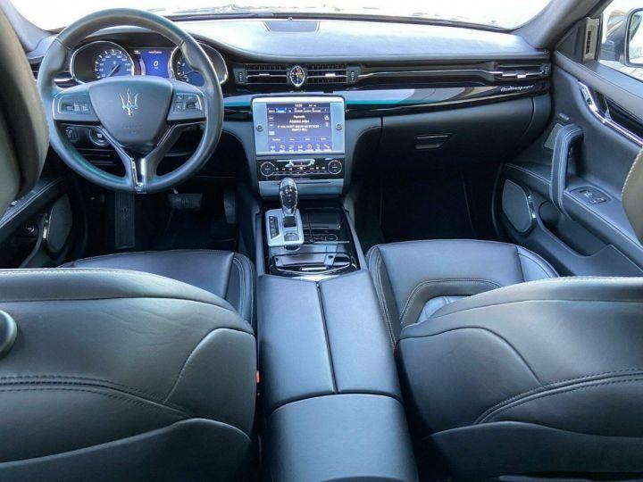 Maserati Quattroporte VI (2) 3.0 V6 S Q4 410 (Toit ouvrant) Gris Grigio Maratea métal - 10