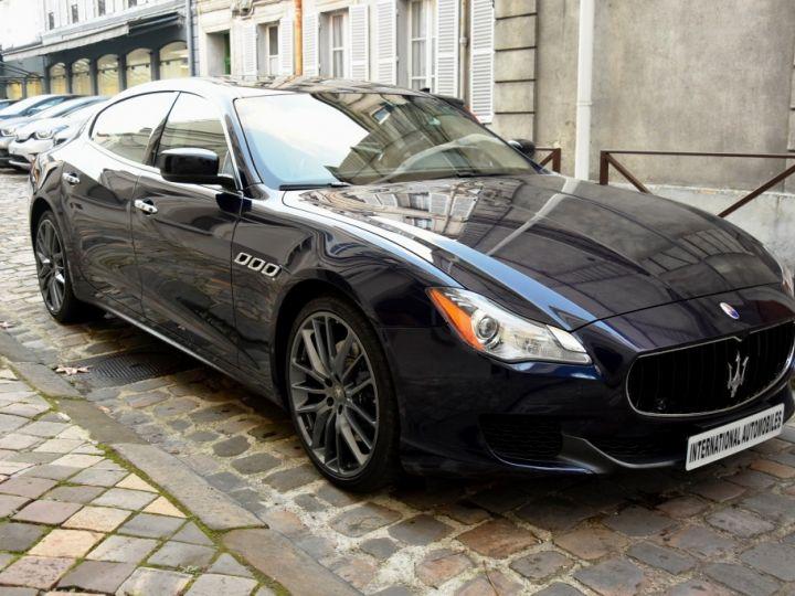 Maserati Quattroporte VI 3.0 V6 S Q4 Bleu Marine Métal - 3