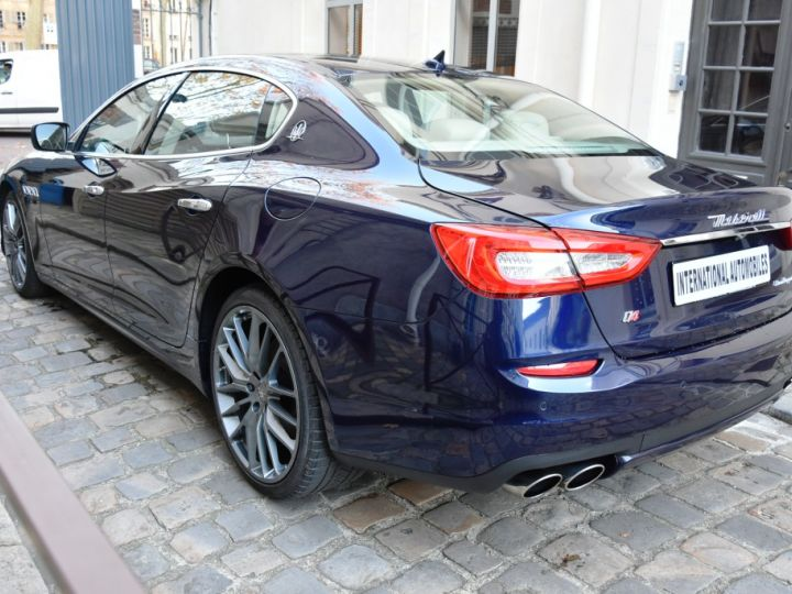 Maserati Quattroporte VI 3.0 V6 S Q4 Bleu Marine Métal - 6