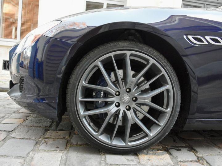 Maserati Quattroporte VI 3.0 V6 S Q4 Bleu Marine Métal - 7