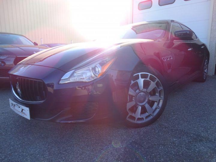 Maserati Quattroporte VI 3.8 V8 530 SPORT GTS AUTOMATIQUE/ DVD Jtes 20 PDC + Camera  bleu métallisé  - 1