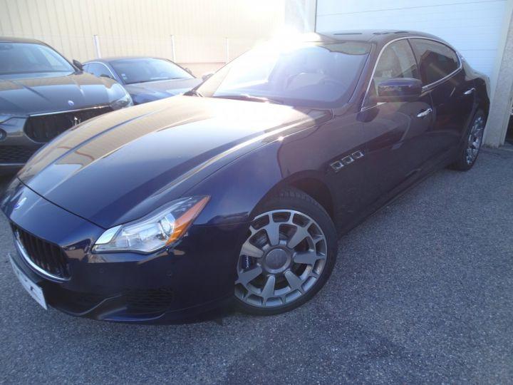 Maserati Quattroporte VI 3.8 V8 530 SPORT GTS AUTOMATIQUE/ DVD Jtes 20 PDC + Camera  bleu métallisé  - 4