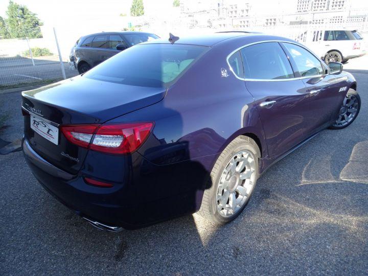 Maserati Quattroporte VI 3.8 V8 530 SPORT GTS AUTOMATIQUE/ DVD Jtes 20 PDC + Camera  bleu métallisé  - 5