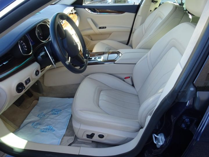 Maserati Quattroporte VI 3.8 V8 530 SPORT GTS AUTOMATIQUE/ DVD Jtes 20 PDC + Camera  bleu métallisé  - 7