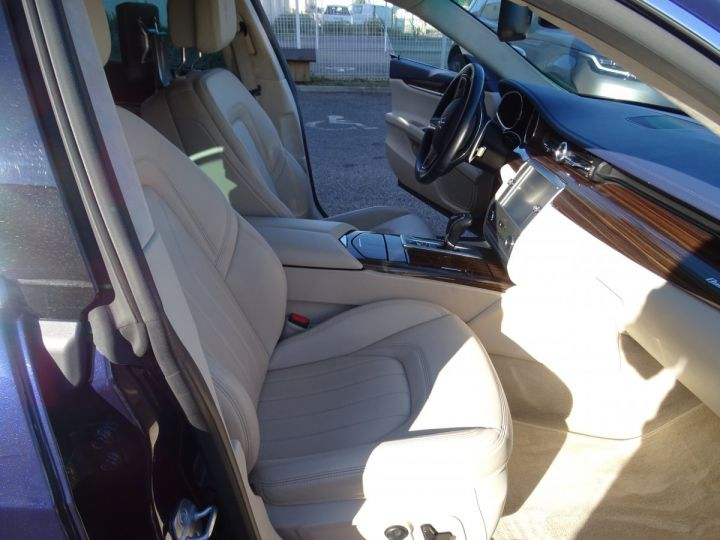 Maserati Quattroporte VI 3.8 V8 530 SPORT GTS AUTOMATIQUE/ DVD Jtes 20 PDC + Camera  bleu métallisé  - 8