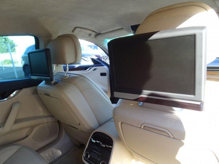 Maserati Quattroporte VI 3.8 V8 530 SPORT GTS AUTOMATIQUE/ DVD Jtes 20 PDC + Camera  bleu métallisé  - 9