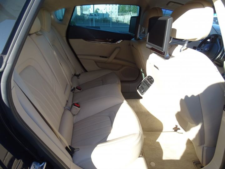 Maserati Quattroporte VI 3.8 V8 530 SPORT GTS AUTOMATIQUE/ DVD Jtes 20 PDC + Camera  bleu métallisé  - 14