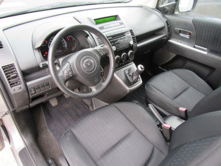 Mazda 5 2.0 MZR-CD110 ELEGANCE 7PL Gris Clair Occasion - 2
