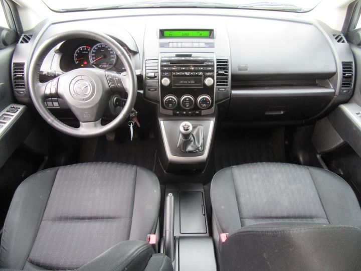 Mazda 5 2.0 MZR-CD110 ELEGANCE 7PL Gris Clair Occasion - 13