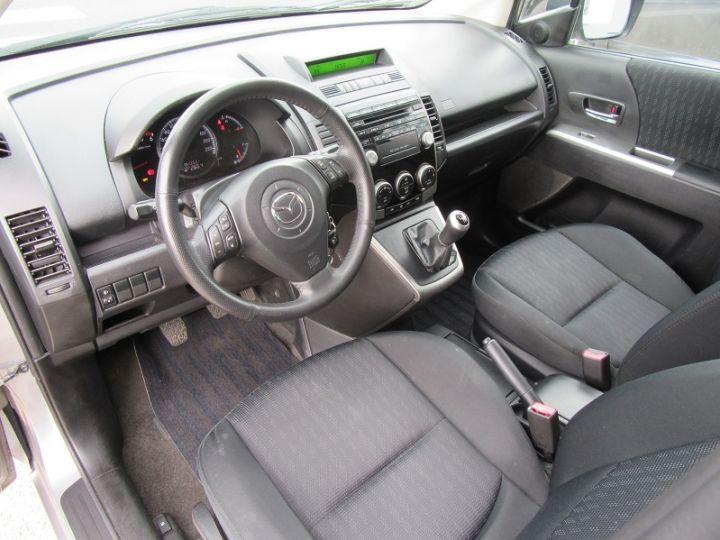 Mazda 5 MAZDA 2.0 MZR-CD110 ELEGANCE 7PL Gris Clair Occasion - 2