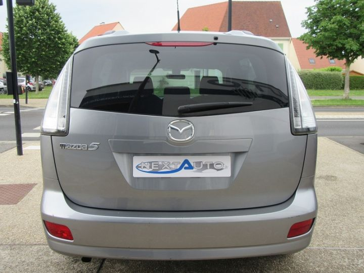 Mazda 5 MAZDA 2.0 MZR-CD110 ELEGANCE 7PL Gris Clair Occasion - 10