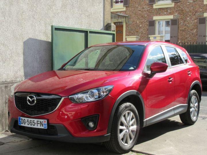 Mazda CX-5 2.2 SKYACTIV-D 150 DYNAMIQUE 4X2 BVA ROUGE Occasion - 1