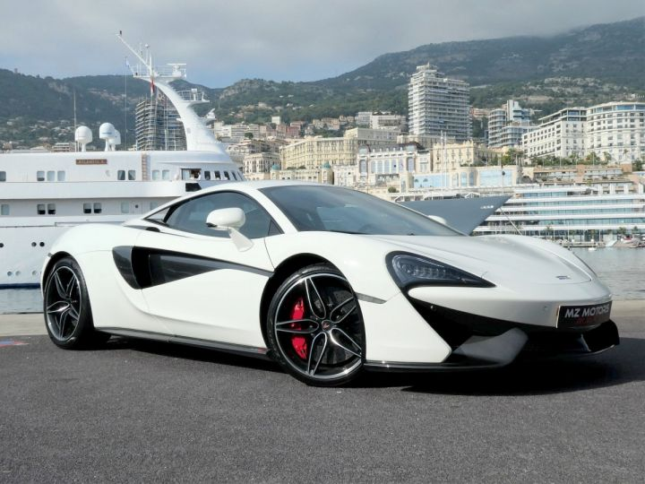 McLaren 570s 3.8 V8 Blanc Vendu - 7