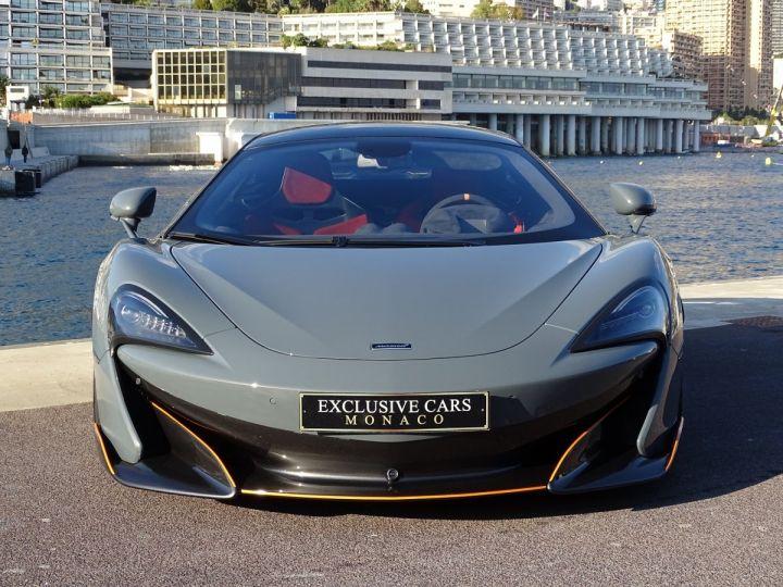 McLaren 600LT  COUPE 3.8 V8 600 CV FULL CARBONE - MONACO Gris Chicane Effect - 2