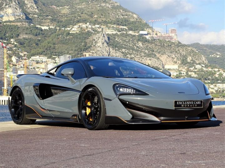 McLaren 600LT  COUPE 3.8 V8 600 CV FULL CARBONE - MONACO Gris Chicane Effect - 3