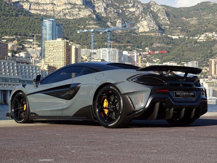 McLaren 600LT  COUPE 3.8 V8 600 CV FULL CARBONE - MONACO Gris Chicane Effect - 7