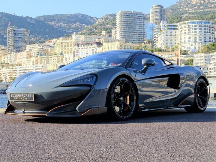 McLaren 600LT  COUPE 3.8 V8 600 CV FULL CARBONE - MONACO Gris Chicane Effect - 13