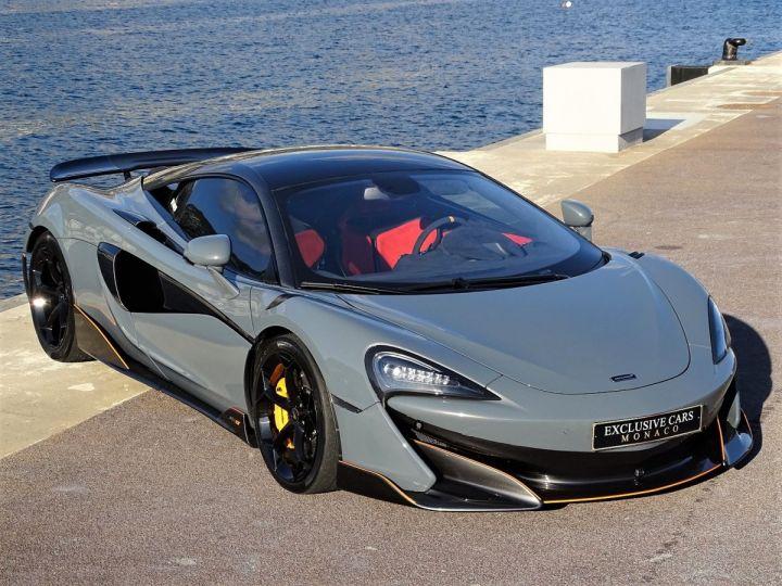 McLaren 600LT  COUPE 3.8 V8 600 CV FULL CARBONE - MONACO Gris Chicane Effect - 14