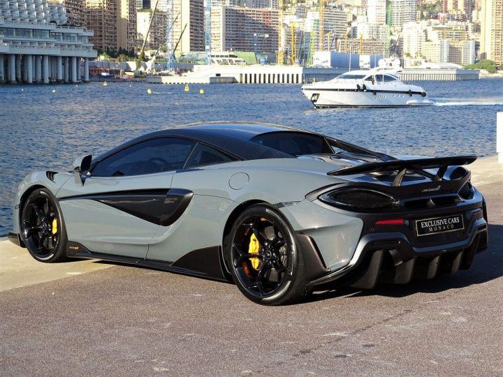 McLaren 600LT  COUPE 3.8 V8 600 CV FULL CARBONE - MONACO Gris Chicane Effect - 16
