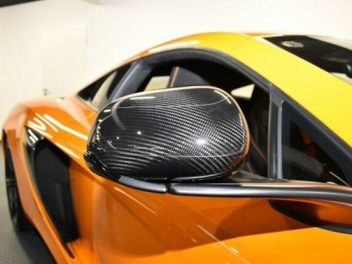 McLaren 650S Pack carbone intérieur Mc Laren Orange - 2