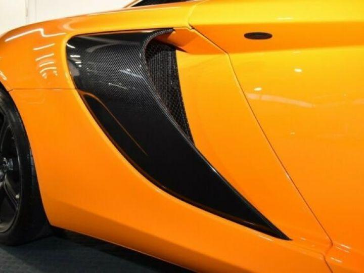 McLaren 650S Pack carbone intérieur Mc Laren Orange - 5