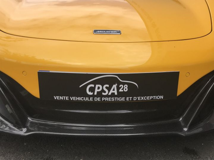 McLaren 650S Spider 3.8 V8 650 Jaune Nacré - 13