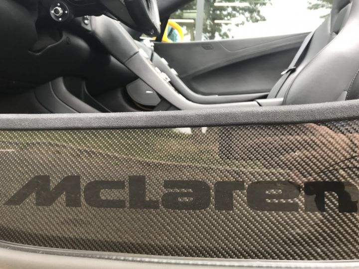 McLaren 650S Spider 3.8 V8 650 Jaune Nacré - 17