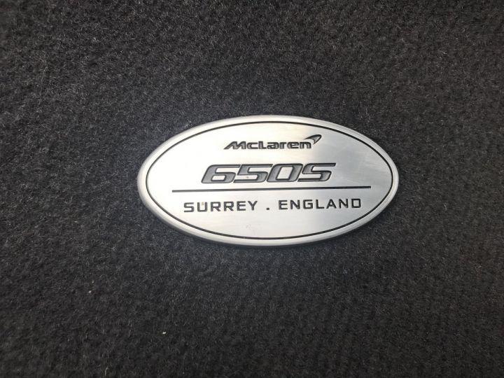 McLaren 650S Spider 3.8 V8 650 Jaune Nacré - 19