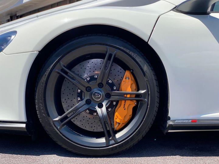 McLaren 650S Spider V8 - MONACO Blanc  - 13