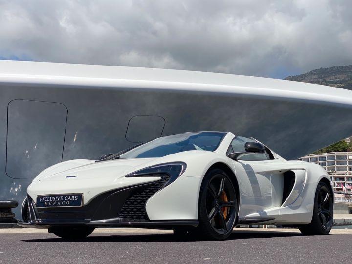 McLaren 650S Spider V8 - MONACO Blanc  - 17