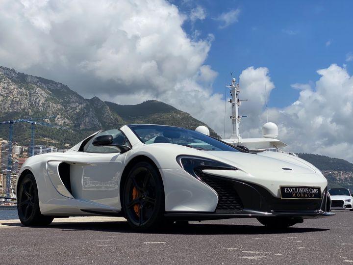 McLaren 650S Spider V8 - MONACO Blanc - 5