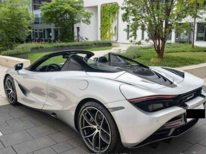McLaren 720S Spider#pack Performance#pack carbone#MSO Shift Supernova Silver métal - 8