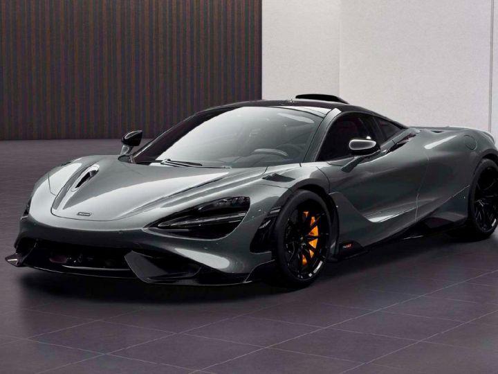 McLaren 765LT McLaren 765 LT - Roof Scoop Gris - 1