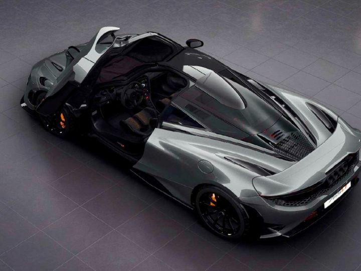 McLaren 765LT McLaren 765 LT - Roof Scoop Gris - 2