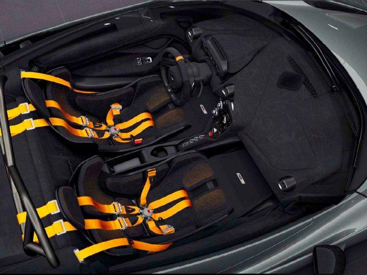 McLaren 765LT McLaren 765 LT - Roof Scoop Gris - 3