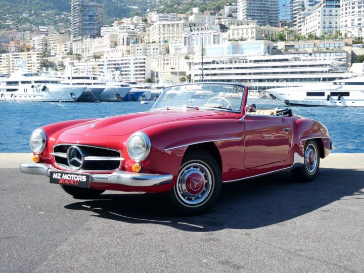 Mercedes 190 SL Rouge Occasion - 3