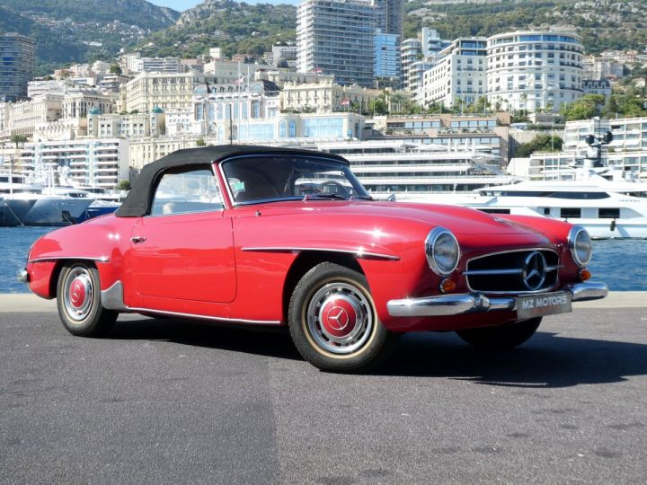 Mercedes 190 SL Rouge Occasion - 5