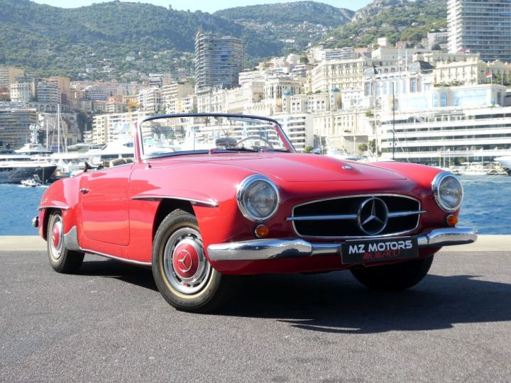 Mercedes 190 SL Rouge Occasion - 6