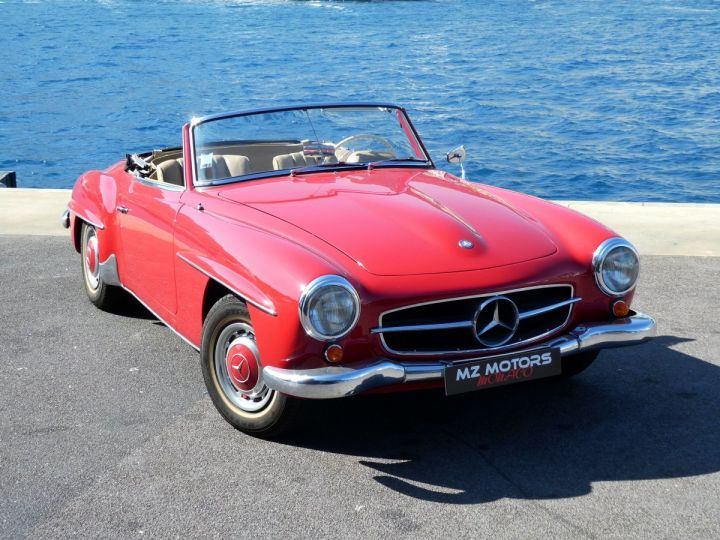 Mercedes 190 SL Rouge Occasion - 7