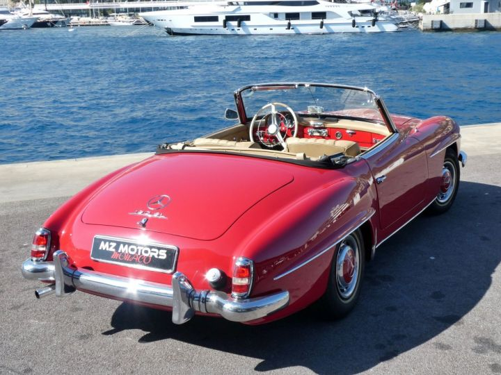 Mercedes 190 SL Rouge Occasion - 8