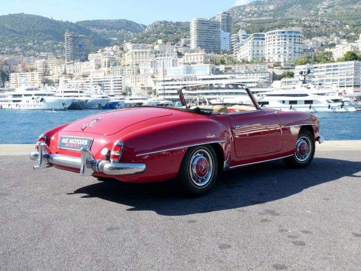 Mercedes 190 SL Rouge Occasion - 10