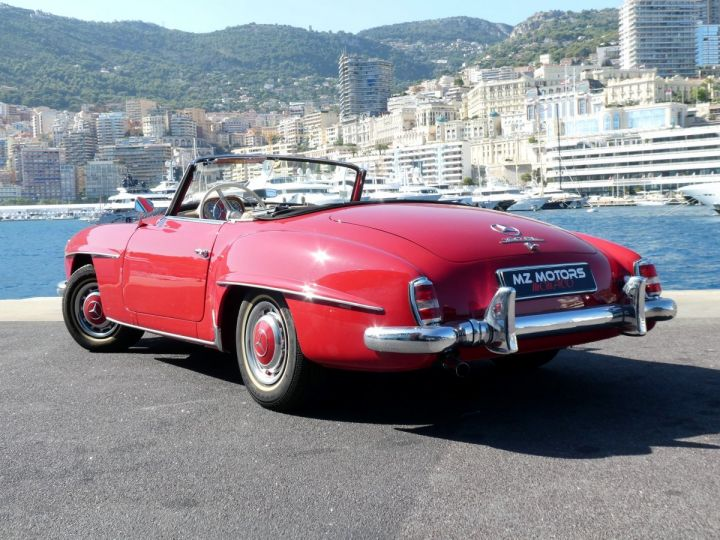 Mercedes 190 SL Rouge Occasion - 11