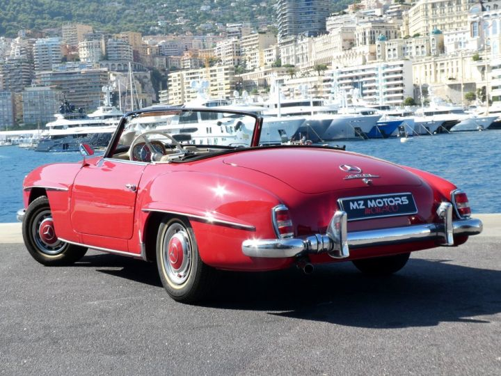 Mercedes 190 SL Rouge Occasion - 12